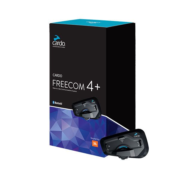 Cardo Freecom 4 + Bluetooth ve İnterkom (İkili  Paket)
