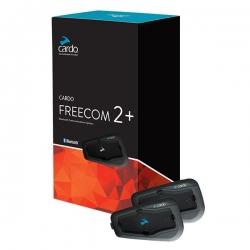 Cardo Freecom 2 + Bluetooth ve İnterkom (İkili Paket)