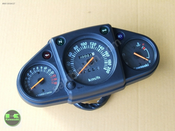 kawasaki ninja 250r gösterge ninja 250 r kilometre saati sıfır