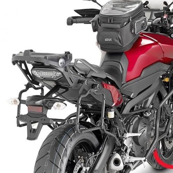Yamaha MT-09 TRACER (15 > 17) Yan Çanta Taşıyıcısı (GIVI PLR2122)